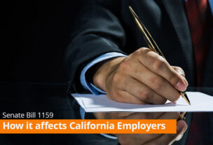 Senate Bill 1159 – How it affects California Employers